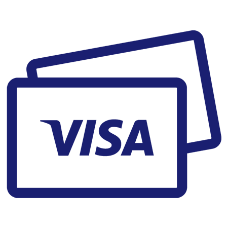 Visa card graphic